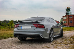 Audi RS7 Royaltyfria Bilder
