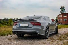 Audi RS7 Imágenes de archivo libres de regalías