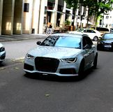 AUDI RS6 stockbild