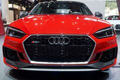 Audi RS5 at the annual International auto-show, February 9, 2019 in Chicago, IL
