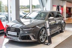 Audi RS 6 Avant Royalty Free Stock Photo