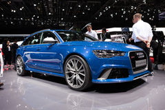 Audi RS6 Avant Royalty Free Stock Photography