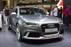 Audi RS6 Royalty Free Stock Photos