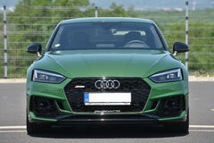 Audi RS5 Coupe. In Most, Czech republic, June 15, 2017 Royalty Free Stock Photography