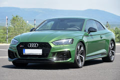 Audi RS5 Coupe. In Most, Czech republic, June 15, 2017 Royalty Free Stock Image