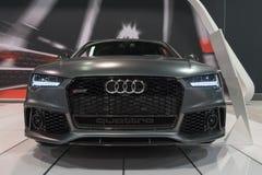 Audi RS7 on display Stock Image
