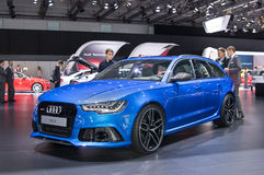 Audi RS6 Stock Images