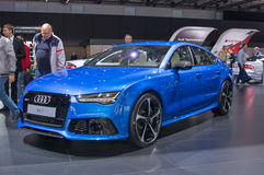 Audi RS7 Stock Photo