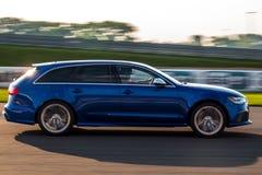 Audi RS6 royalty free stock photos