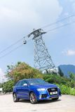 Audi RS Q3 2014 Royalty-vrije Stock Afbeeldingen