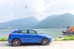 Audi RS Q3 2014 Stock Foto