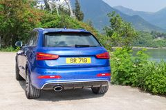 Audi RS Q3 2014 Royalty Free Stock Photos