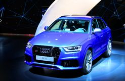 Audi RS Q3 Royalty Free Stock Photography