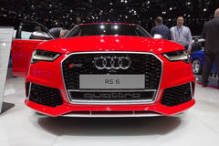 Audi RS6 Quattro car Stock Image