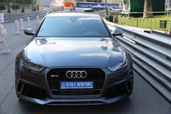 Audi RS 6 Quattro i Monaco Royaltyfria Foton