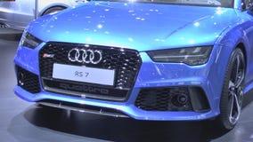 Audi RS7 Sportback quattro Royalty Free Stock Photos