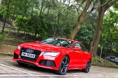 Audi RS7 Sportback Seden 2014 Royalty Free Stock Images