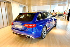Audi RS4 Avant on display at Audi Centre Singapore Stock Photo