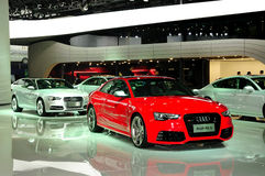 Audi RS5 saloon car Royalty Free Stock Images
