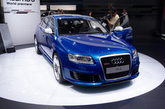 AUDI RS6 Royalty Free Stock Photography