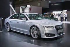Audi S8 Royaltyfri Bild