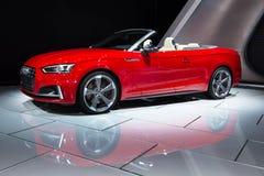 2018 Audi S5 Royalty-vrije Stock Afbeeldingen