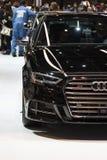 Audi S3 bij 2019 Chicago Auto toont stock foto's