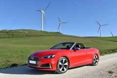 Audi S5 Cabrio Royalty Free Stock Image