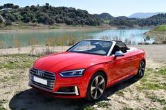 Audi S5 Cabrio Royalty Free Stock Photo