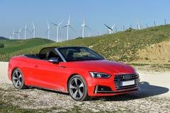 Audi S5 Cabrio Stock Image