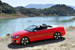 Audi S5 Cabrio Stock Photo