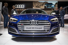 2017 Audi S5 Coupe car Stock Photography