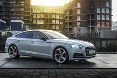 Audi A5 s-linje 2017 Arkivfoto
