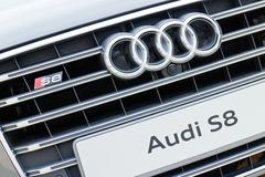 Audi S8 Logo Royalty Free Stock Photos