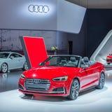 2018 Audi S5, NAIAS Royalty-vrije Stock Foto's