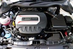 Audi S1 quattro 2014 Engine Stock Images
