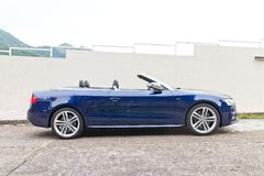 Audi S5 and S5 Cabriolet 2014 Royalty Free Stock Photography