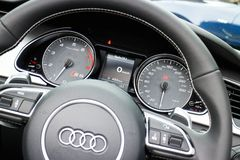 Audi S5 and S5 Cabriolet 2014 Stock Photography