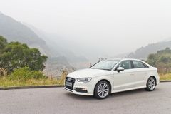Audi S3 Sedan 2014 Model Royalty Free Stock Image