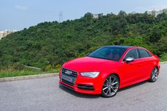 Audi S3 Sport Seden 2014 Stock Photos