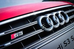Audi S3 Sport Seden 2014 Royalty Free Stock Image