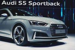 Audi 2017 S5 Sportback arkivbild