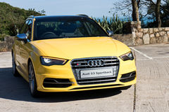 Audi S3 Sportback 2013 Model Stock Photography