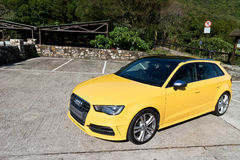 Audi S3 Sportback 2013 Model Royalty Free Stock Photo