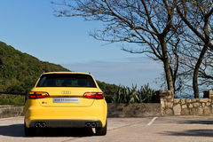 Audi S3 Sportback 2013 Model Stock Images
