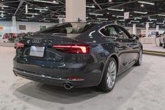 Audi S5 Sportback na pokazie Zdjęcie Royalty Free
