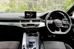 Audi S5 Sportback nowy 2017 wnętrze Obraz Stock