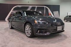Audi S5 Sportback op vertoning Stock Afbeeldingen