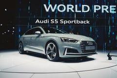 2017 Audi S5 Sportback Royalty Free Stock Photos