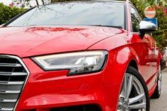 Audi S3 Sportback 2017 Test Drive Day Royalty Free Stock Photo